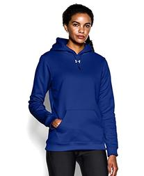 Under Armour Women's Armour Fleece Team Hoodie Small Royal