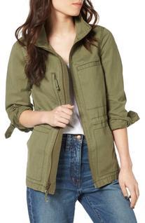 Women's Madewell Fleet Jacket, Size Small - Green