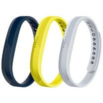 Fitbit Flex 2 Accessory Band 3-Pack Sport Size Large