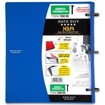 Five Star Flex Blue NoteBinder, 1-Inch Capacity, 11.5 x 11