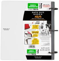 Five Star Flex NoteBinder, 1.5-Inch Capacity, 11.5 x 11.25