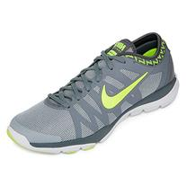 Nike Women's Flex Supreme TR 3 Cross Trainer, Wolf Grey/Volt