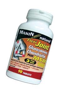 Mason Vitamins Flexi-Joint Glucosamine/Chondroitin MSM 1000
