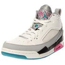 Nike Jordan Men's Jordan Flight 9.5 White/Trpcl Teal/Wlf Gry