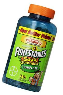Flintstones Sour Gummies, 180 Count