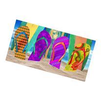 Kaufman Sales Flip-Flop Beach Towel