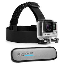 SANDMARC Floating Headstrap Mount for GoPro Cameras. Keeps