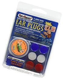 PUTTY BUDDIES Floating Earplugs 3-Pair Pack - Soft Silicone