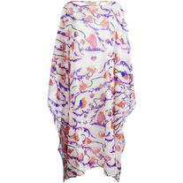 Emilio Pucci - floral print kaftan - women - Cotton - 42