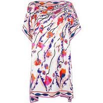 Emilio Pucci - floral print tunic - women - Silk - 40