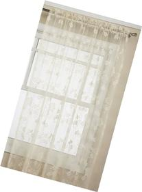 Lorraine Home Fashions Floral Vine 60-inch x 63-inch Tailord