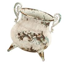 Florance Rustic Vase, Rusty look and antiqued charm