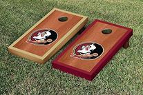 Florida State FSU Seminoles Cornhole Game Set Rosewood