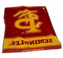 NCAA Florida State University Woven Team Golf Towel