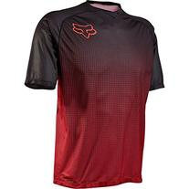 Fox Men's Flow Jersey, Red, Medium