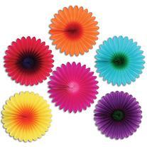 Mini Flower Fans Party Accessory