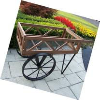 Oakland Living Flower Garden Wagon, Black by Oakland Living