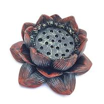 Lotus Flower Incense Burner and Votive Tea Light Candle