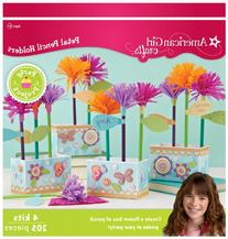 American Girl Crafts Flower Pencil Holder Party Activity Kit