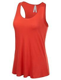 Emmalise Women's Flowey Lightweight Yoga Workout Tank Top