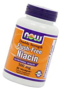 Now Foods Flush-Free Niacin 500 mg - 90 Vcaps