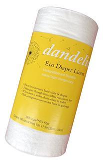 Dandelion Diapers Flushable 100% Ingeo PLA Fiber Diaper