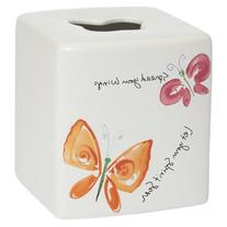 Creative Bath Flutterby Tissue Box Cover
