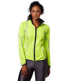 Pearl Izumi Women's Fly Reverse Jacket, Screaming Yellow/