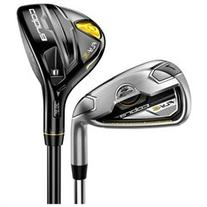 COBRA Fly Z Black 4-PW+GW Hybrid Irons Matrix Graphite Lite