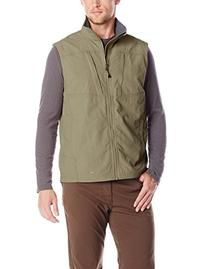 ExOfficio Men's Flyq Lite Vest, Walnut, Small