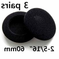 SOFTROUND Foam Pad Ear Cover for Philips Sony Headphones-