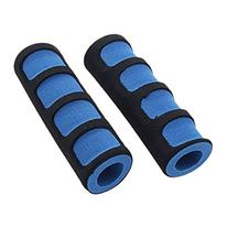 Caetle® 2PCS Foam Road Bike Bicycle Handle Bar Grips Black