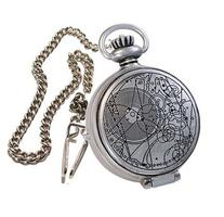 The Doctor's Fob Watch with Metal Keychain by Doctor Who