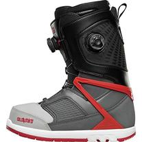 Thirtytwo Focus Boa Snowboard Boots, Grey/Black/Red, Size 8.