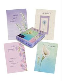 Designer Greetings Foiled Embossed Sympathy Greeting Cards,