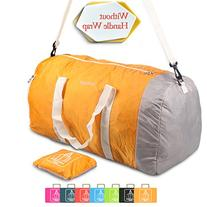 Foldable Travel Luggage Duffle Bag Lightweight for Sports,