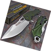 TAC-FORCE Spring Assisted Open TACTICAL GREEN Folding Blade