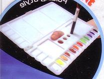 Folding Art Watercolor/Acrylic Paint Palette Box For Left Or