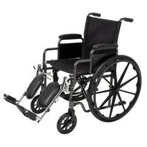 Folding Wheelchair Full Armrests & Elevating Legrests Light
