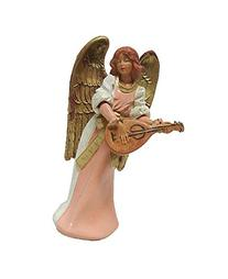 Exclusive Fontanini 5 Eva Angel With Mandolin Signed