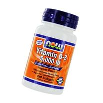 NOW Foods by Now:Vitamin D-3 5000IU Structural Support 240