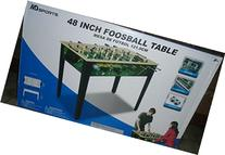 """Md Sports 48"""" Foosball Game Table -Table Colors and Designs"""