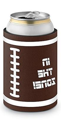 Epic Products Football Neoprene Can Epicool, 4-Inch