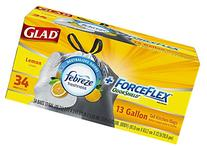 Glad Force Flex Odor Shield Drawstring Tall Kitchen Trash