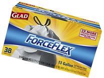 Glad ForceFlex Drawstring Tall Kitchen Trash Bags, Unscented