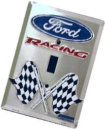 Ford Racing light switch plate