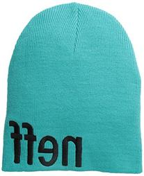 neff Men's Form Beanie, Teal, One Size
