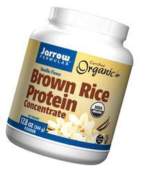 Jarrow Formulas Brown Rice Protein Concentrate, Vanilla