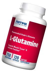 Jarrow Formulas L-Glutamine 750 mg, Supports Muscle Tissue