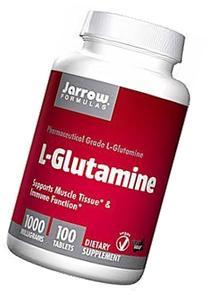 Jarrow Formulas L-Glutamine 1000 mg 100 tabs